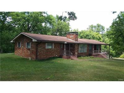 Potosi Single Family Home For Sale: 11186 State Highway P