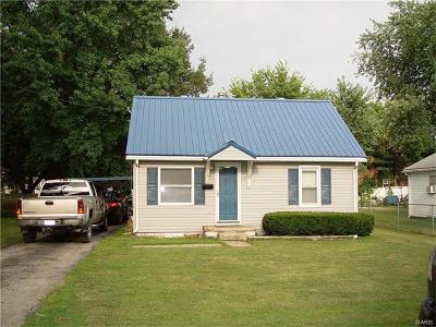 Jerseyville Single Family Home For Sale: 212 Curtis Street