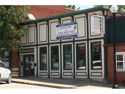Warrenton Commercial For Sale: 220 East Booneslick