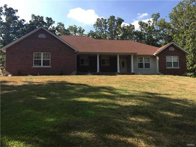 Cadet MO Single Family Home For Sale: $217,500