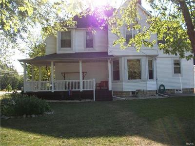 Jerseyville Single Family Home For Sale: 801 West Carpenter