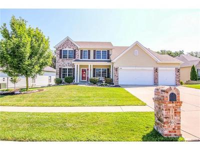 Wentzville Single Family Home Contingent w/Kickout: 110 Bobcat Court