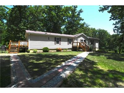 Wright City Single Family Home Contingent No Kickout: 31850 Indian Camp