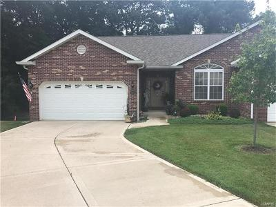 Collinsville Single Family Home Contingent No Kickout: 112 Briar Ridge
