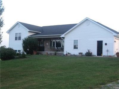 Monroe County, Ralls County Single Family Home Contingent No Kickout: 53571 Eagle Ridge Place