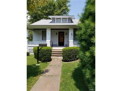 Edwardsville, Glen Carbon, Maryville, Troy Single Family Home For Sale: 311 Franklin Avenue