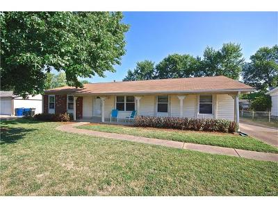 Ballwin Single Family Home For Sale: 1215 Big Bend Road