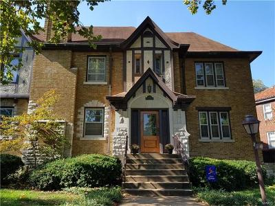 St Louis Multi Family Home For Sale: 7238 Pershing Avenue