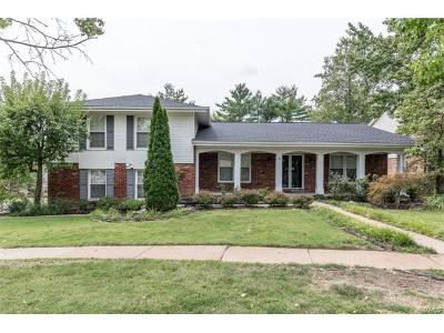 Chesterfield MO Single Family Home For Sale: $394,900
