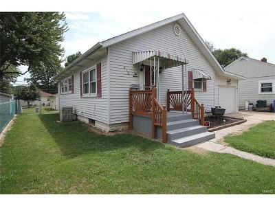 East Alton IL Single Family Home For Sale: $57,500