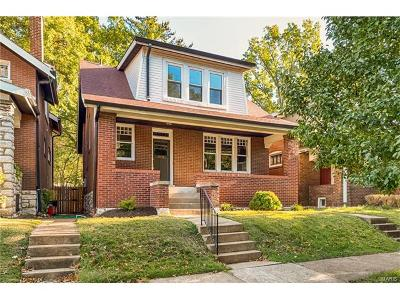 St Louis Single Family Home For Sale: 1125 Dover Place
