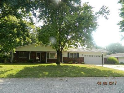 Godfrey IL Single Family Home For Sale: $174,900