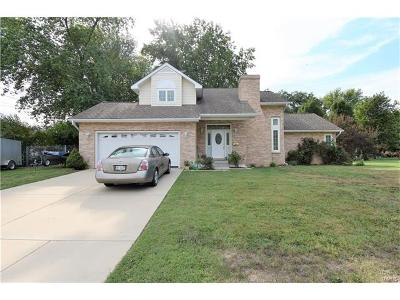Mascoutah Single Family Home For Sale: 457 South Railway