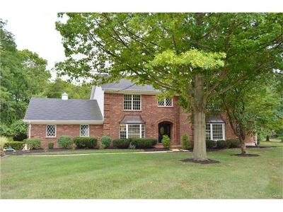 St Louis County Single Family Home For Sale: 9814 Sunset Greens Drive
