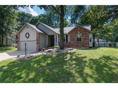 Edwardsville IL Single Family Home Contingent w/Kickout: $255,900