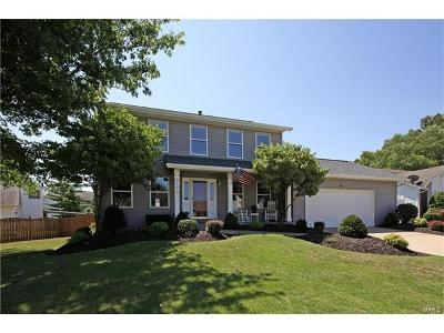 O Fallon Single Family Home Contingent No Kickout: 2170 Beckewith Trail