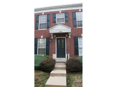 Ellisville Condo/Townhouse Contingent w/Kickout: 1329 Parkview Estates