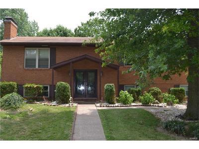 Glen Carbon Single Family Home For Sale: 61 Crestview