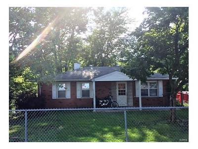Granite City Single Family Home For Sale: 5517 Old Alton Road