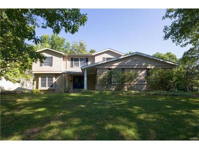 Ellisville Single Family Home Contingent No Kickout: 1333 Bridge Creek