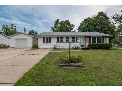 Godfrey IL Single Family Home For Sale: $117,500