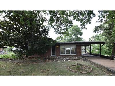Single Family Home For Sale: 9549 Crockett Drive