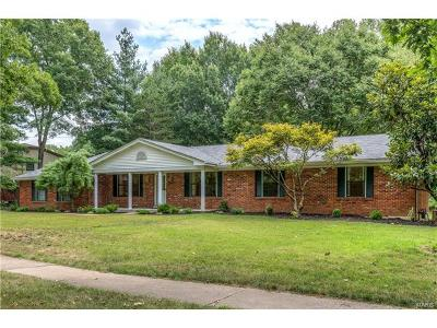 St Louis County Single Family Home For Sale: 13356 Featherstone Drive