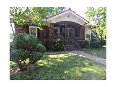 St Louis County Single Family Home For Sale: 314 Tower Grove