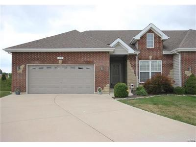 Wentzville Condo/Townhouse For Sale: 216 Pierce View Circle