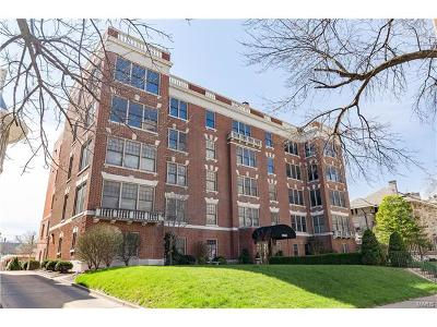 St Louis Condo/Townhouse For Sale: 4540 Lindell #404