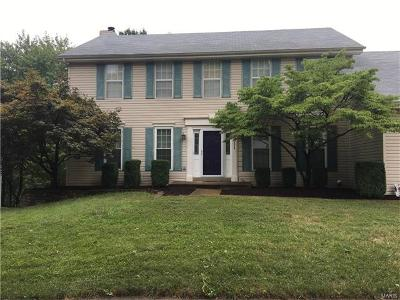 Ballwin Single Family Home For Sale: 1475 Cedar Bluff Drive