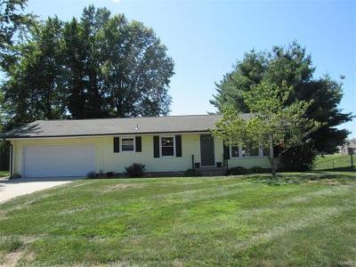 Jerseyville Single Family Home For Sale: 718 Cross Avenue