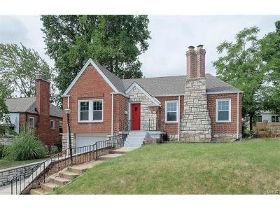 St Louis Single Family Home For Sale: 9115 Lucia Drive