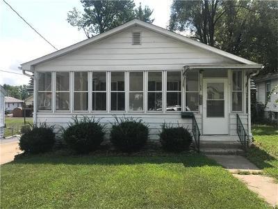 Alton IL Single Family Home For Sale: $83,000