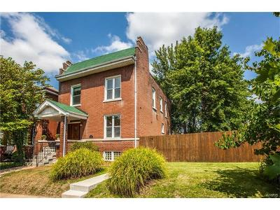 St Louis Single Family Home For Sale: 3915 Humphrey Street