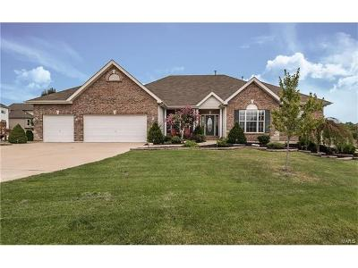 Wentzville Single Family Home Contingent No Kickout: 417 Highland Meadows Place