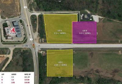 Wentzville Commercial For Sale: Hwy Z At Interstate Dr.
