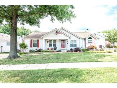 St Louis Single Family Home For Sale: 6869 China Lake Drive