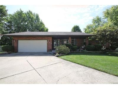 Edwardsville Single Family Home For Sale: 920 Whippoorwill Way