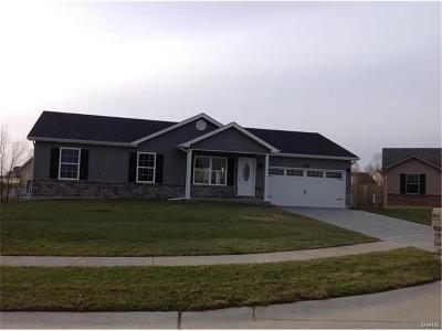 Wright City MO Single Family Home For Sale: $167,900
