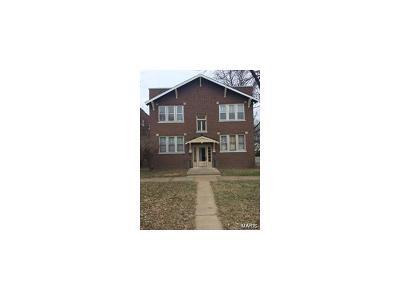 St Louis Multi Family Home For Sale: 5428 Loughborough Avenue