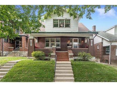 St Louis Single Family Home For Sale: 4958 Holly Hills Avenue