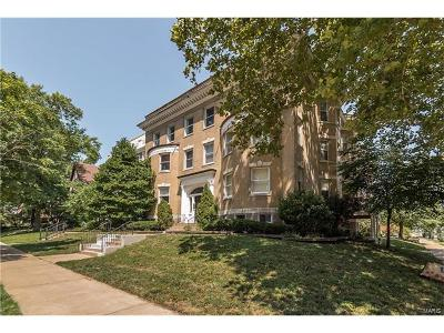 St Louis Condo/Townhouse For Sale: 4401 McPherson Avenue #1W
