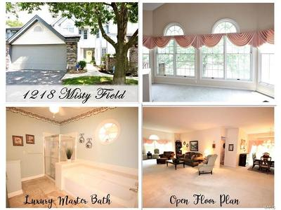 St Louis County Single Family Home For Sale: 1218 Misty Field Lane