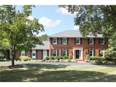 Chesterfield MO Single Family Home For Sale: $630,000