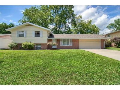 Fairview Heights Single Family Home For Sale: 212 Merriweather Lane