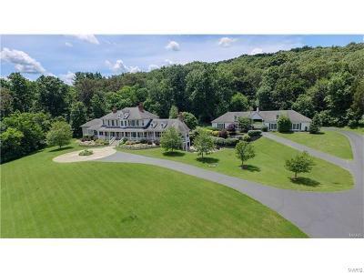 Wildwood Single Family Home For Sale: 4325 Fox Creek Road #21 ac