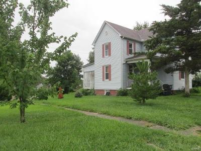 Belleville Single Family Home For Sale: 1528 North Church