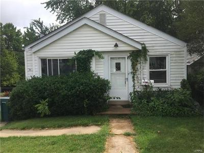 St Louis City County, St Louis County Single Family Home For Sale: 618 Couch Avenue
