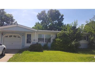 St Louis City County, St Louis County Single Family Home For Sale: 1695 Queens